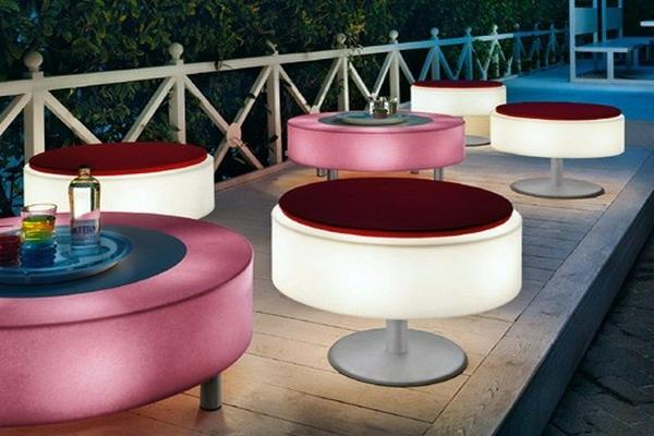 világító székek