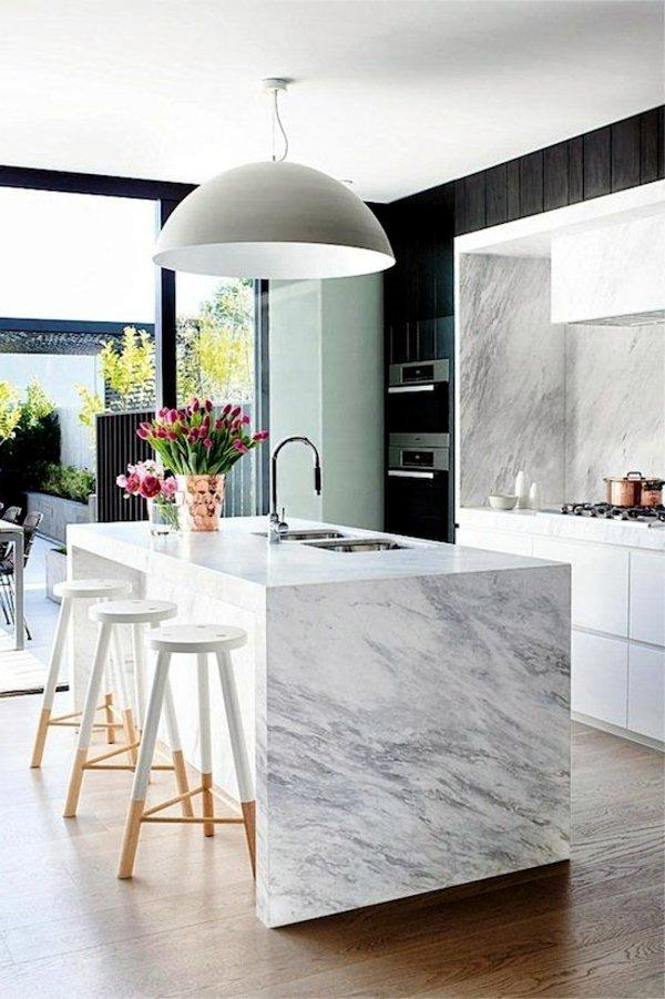 Plan kitchen decor in white - Modern White Kitchen ...