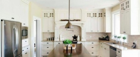 Traditional white country kitchen     15 cool interior design ideas     Einrichtungsideen   Traditional white country kitchen   15 cool interior  design ideas