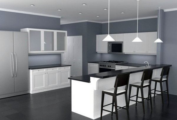 30 Interior Design Ideas For Wall Paint In Shades Of Gray