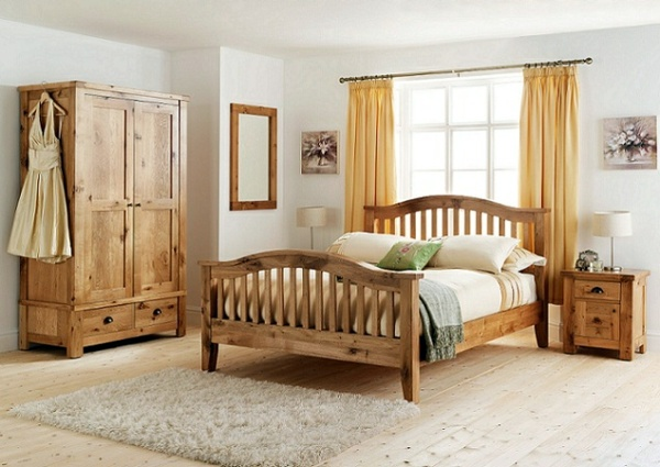 wood furniture for a beautiful bedroom