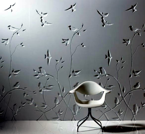 Creative Designs For Decorative Wall Covering Interior