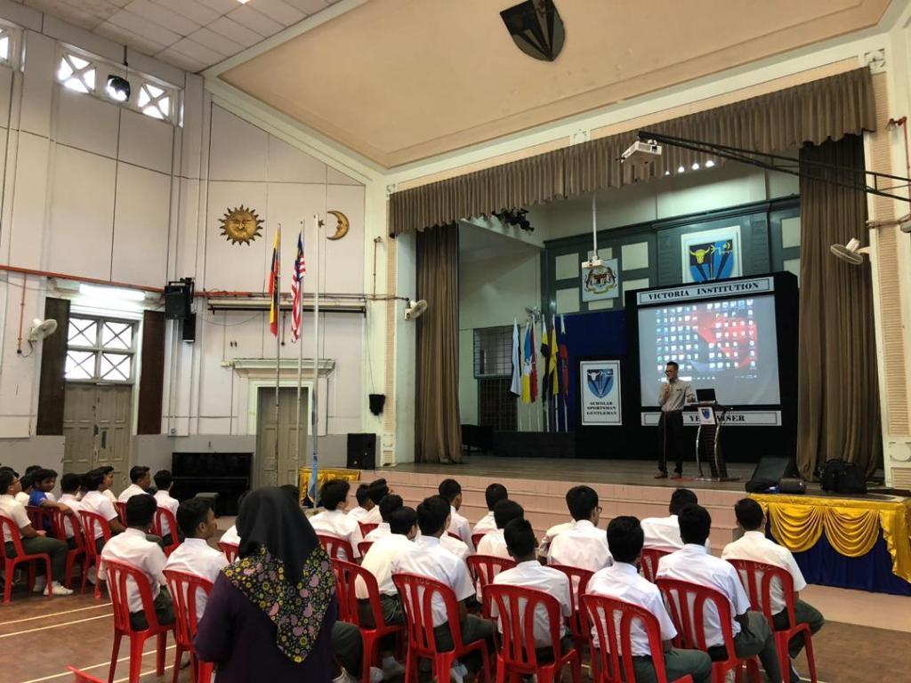 Career talk at Victoria Institution