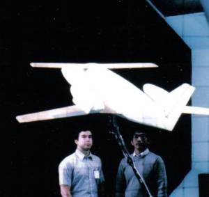 AvtekAir 9000T in NASA Langley wind tunnel