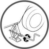 Домкрат механический