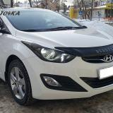 Мухобойка Hyundai Elantra с 2011 «VIP»