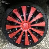 Колпаки GMK Red Black