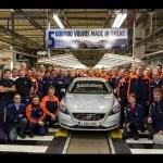 Pet milijonov Volvo vozil izdelanih v tovarni v Ghentu