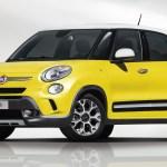 Fiat 500L Trekking: vmesni člen