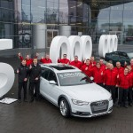 5 milijonov: Audi, Fiat in Toyota