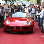 Alfa Romeo Disco Volante: najlepša v Villi d'Este