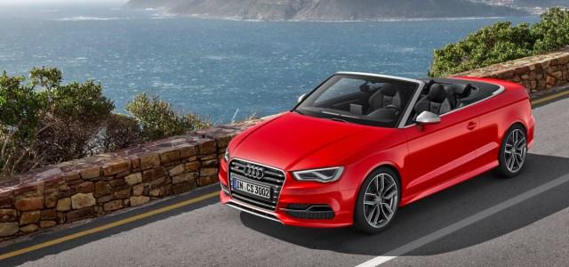 Audi S3 Cabriolet: brez tekmeca