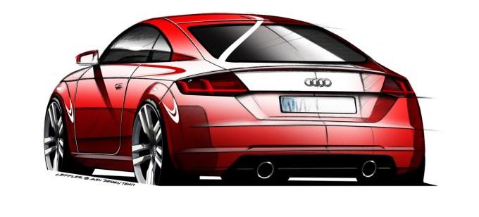 Audi TT: z motorji od 180 do 380 'konj', med njimi tudi nov TDI s 184 'konji'.