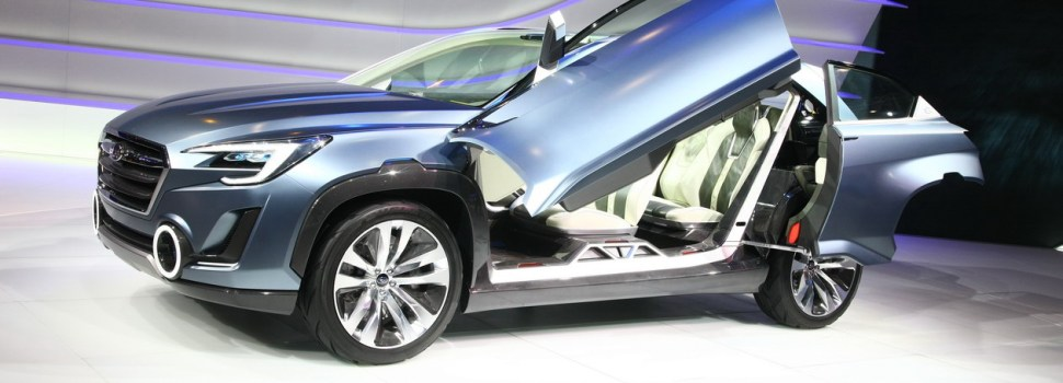 Ženeva 2014: Subaru Viziv 2 Concept
