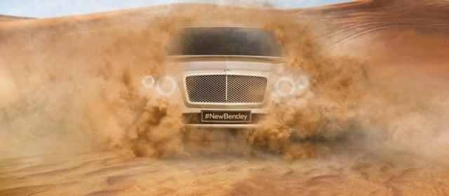 Bentley: 4000 naročil za avto, ki ga še ni
