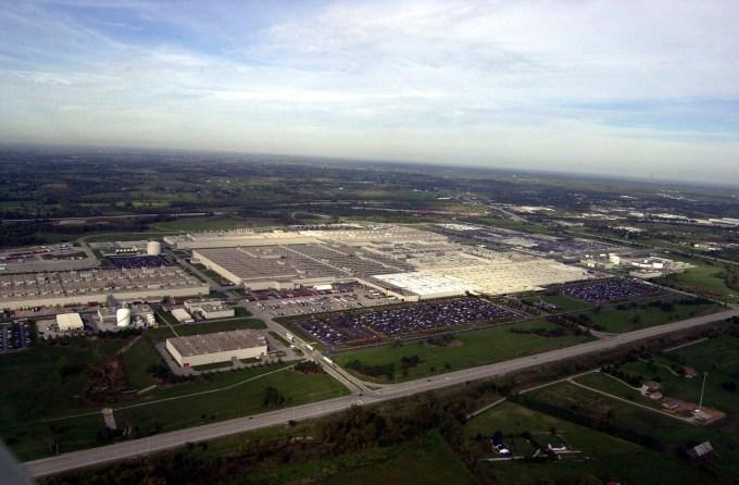 Toyota je v ZDA že vse od leta 1957, v Kentuckyju pa stoji ena od njenih ameriških tovarn.