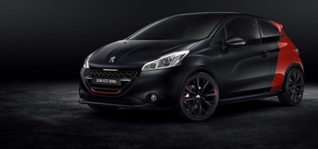 Peugeot 208 GTi 30th: rojstnodnevno darilo
