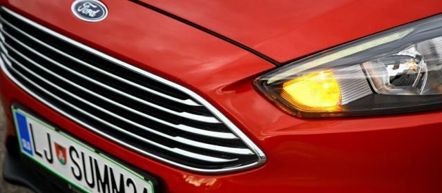 Ford Focus: na slovenskem trgu