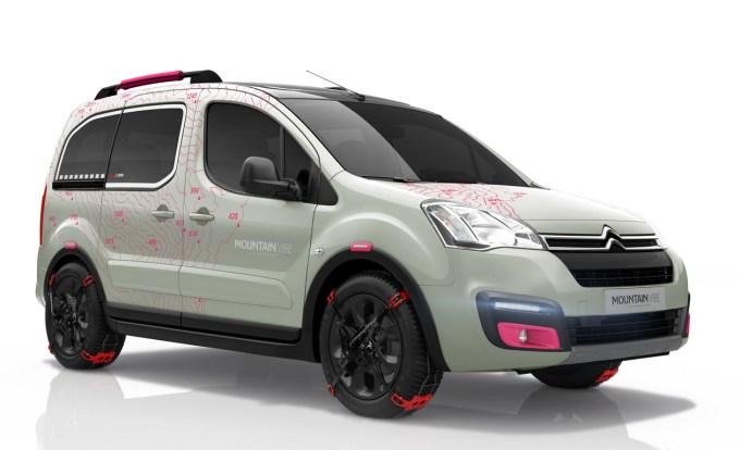 Citroën Berlingo MVC: namenjen pobegu v naravo, sicer pa napovednik novega Berlinga.