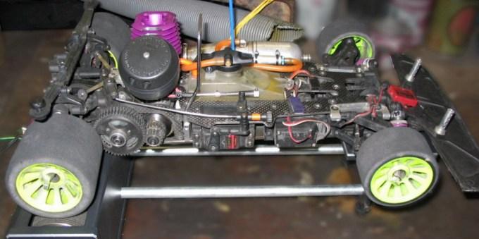 Merjenje moči motorja na vztrajnostnih valjih.