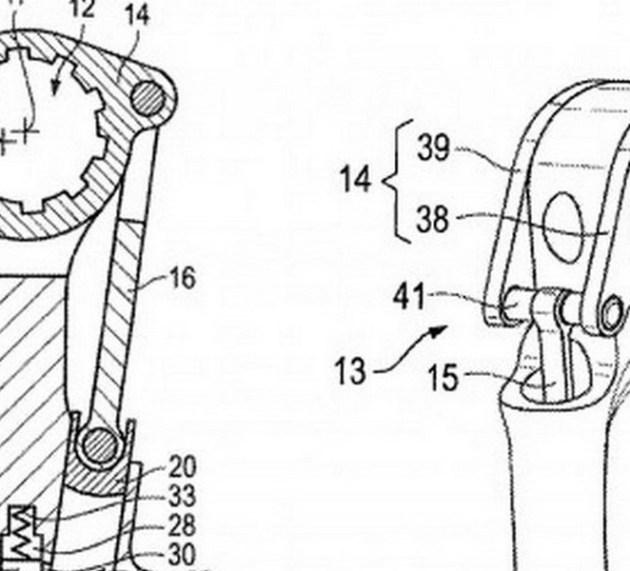 Porsche: spremenljiva kompresija ali relativno gibanje bata