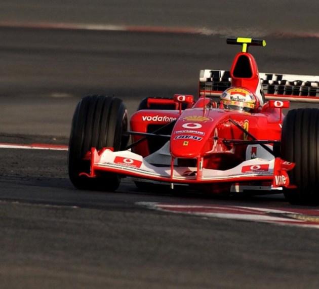 Zvočna emisija motorja: analiza Schumacherja v Ferrariju F1