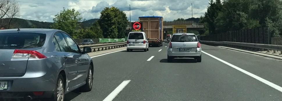 Interes posameznika pred splošno vozniško etiko
