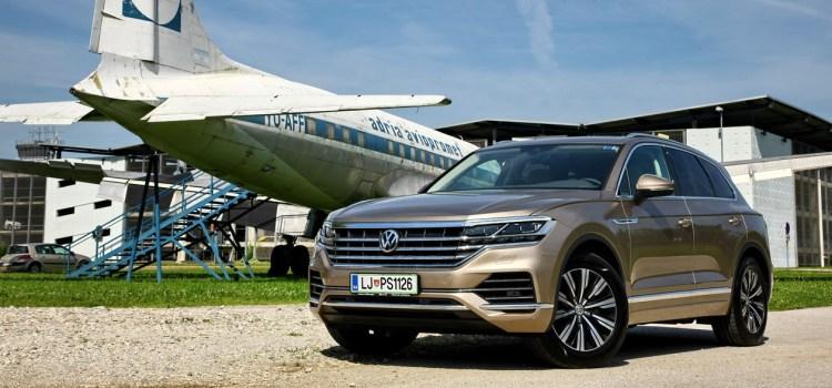 Volkswagen Touareg: na slovenskem trgu