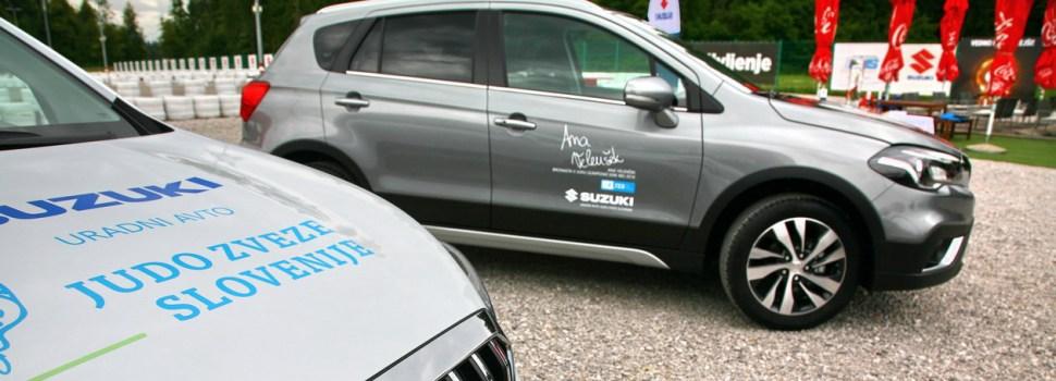 Suzuki: uradni avtomobil Judo zveze Slovenije