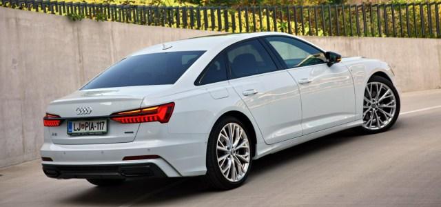 Audi A6: na slovenskem trgu
