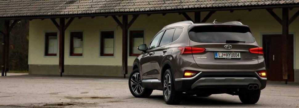 Hyundai Santa Fe: na slovenskem trgu