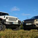Jeep Renegade, Cherokee in Wrangler: na slovenskem trgu