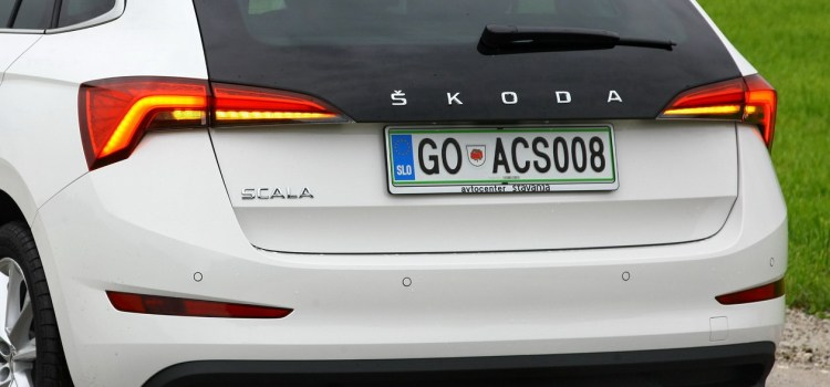 Škoda Scala: na slovenskem trgu