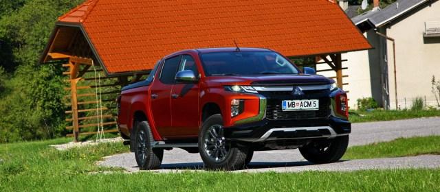 Mitsubishi L200: prenovljen na slovenskem trgu