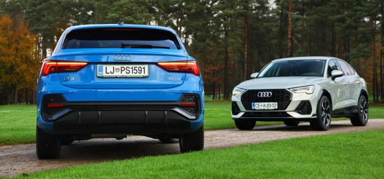 Audi Q3 Sportback: na slovenskem trgu