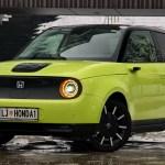 Honda e: na slovenskem trgu