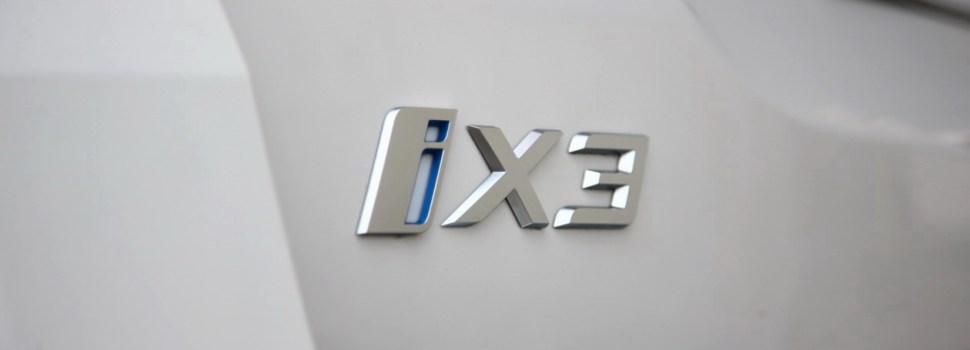 BMW iX3: na slovenskem trgu