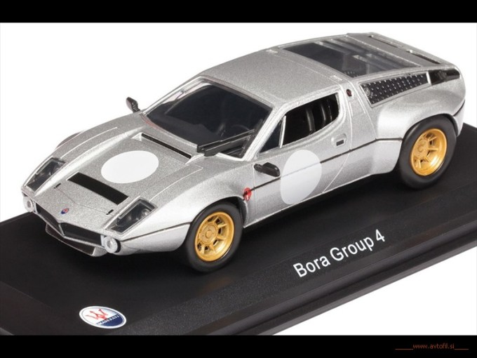 Bora GR4 1974 Bianco F