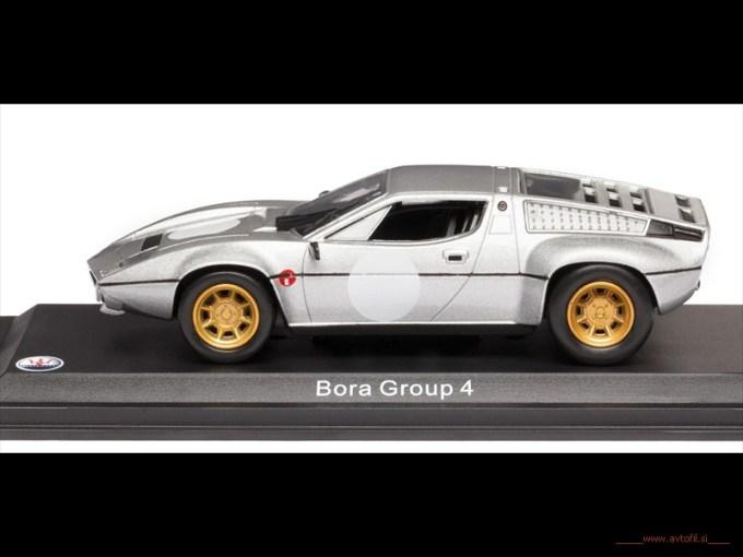 Bora GR4 1974 Bianco S
