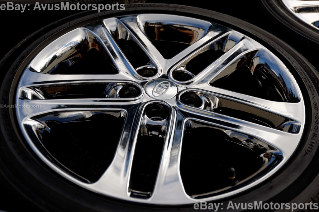 2013 Kia Optima Sxl 18 Quot Chrome Factory Oem Wheels Amp Tires