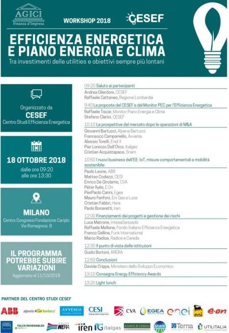 Convegno Cesef 2018 - Avvenia Efficienza Energetica