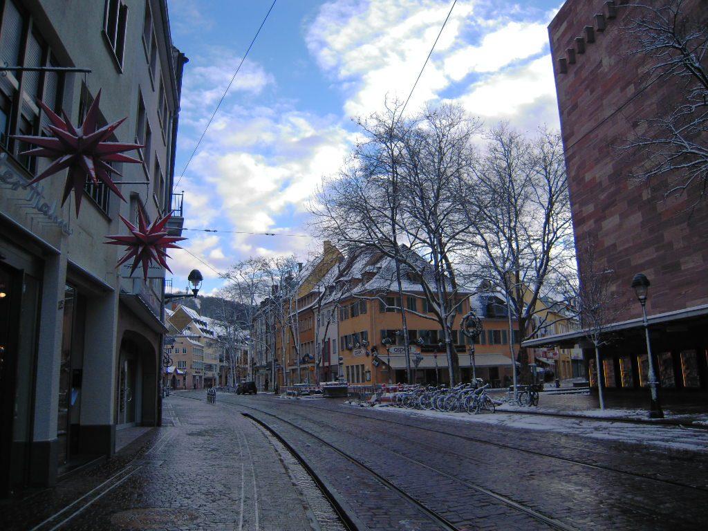 Inverno a Friburgo erasmus