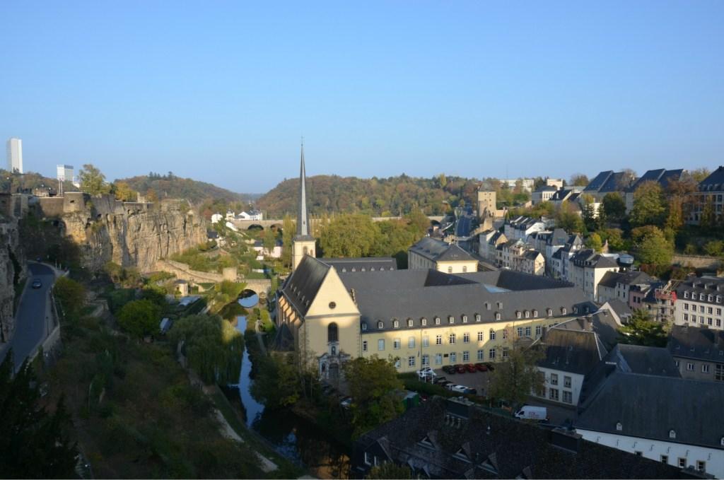 Lussemburgo dal Chemin de la Corniche