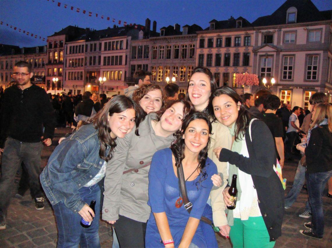 Ragazzi Erasmus in Belgio