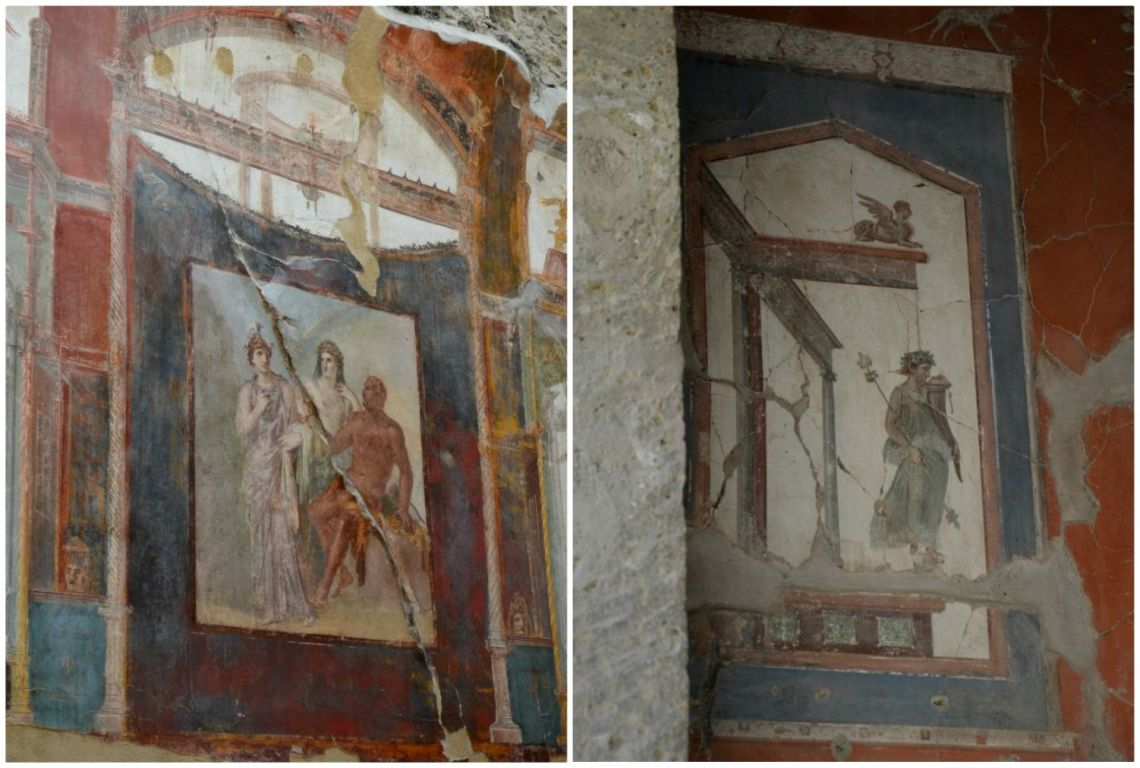 Ercolano-affreschi