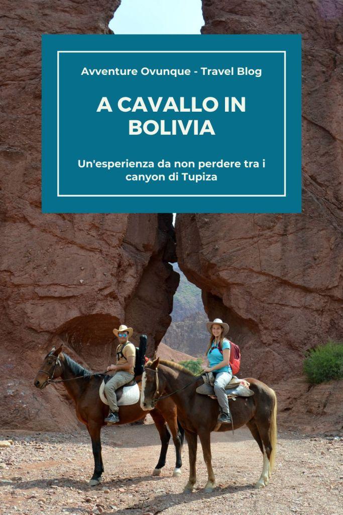 Escursione a cavallo in Bolivia