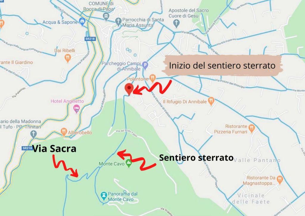 Via Sacra Rocca di Papa