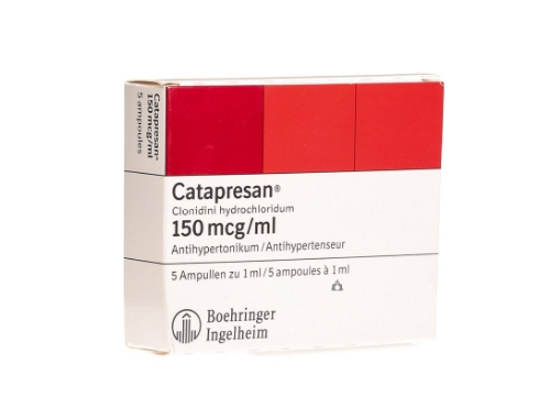 Catapresan:farmaco carente per cessata commercializzazione