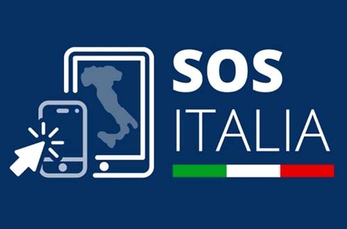 SOS Italia, l'app per l'autocertificazione