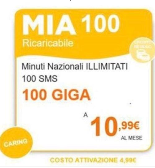 Mia 100, novitá Wind per chi adora internet